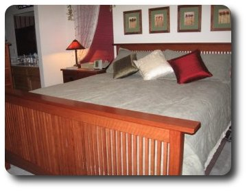 Pdf diy mission style furniture plans bed download mission for Mission style bed plans